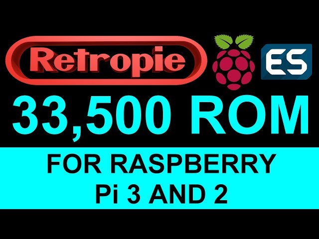 RetroPie 32GB Image With Over 5500 Retro Games On Raspberry