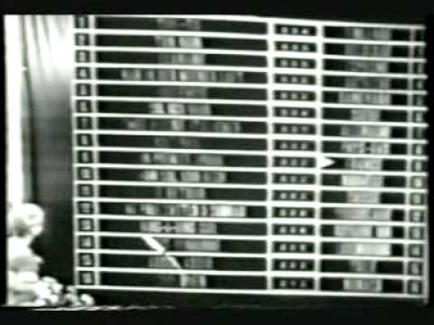Eurovision 1962 - Voting Part 2/2