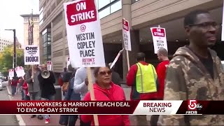 Union workers, Marriott reach deal to end strike