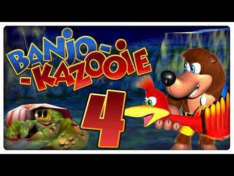 Let's Play BANJO-KAZOOIE Part 4: Treasure Trove Cove