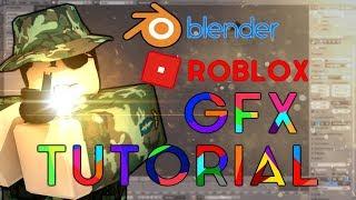 ROBLOX GFX TUTORIAL - Blender