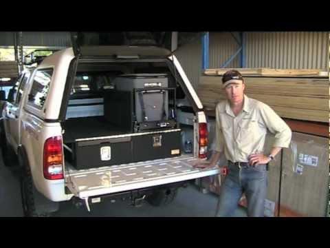 Drifta  twin cab storage drawers  YouTube