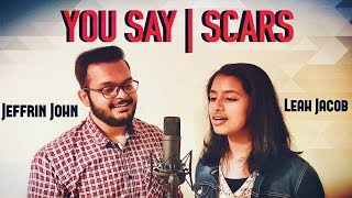 Download You Say | Lauren Daigle - Scars | I AM THEY - Worship Cover | Jeffrin John & Leah Jacob Mp3 and Videos