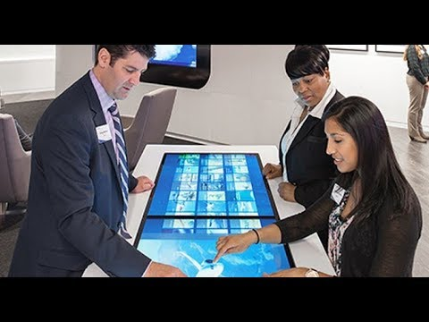 SISTAB - An Interactive Multi-Touch Collaboration Solution by SISPL