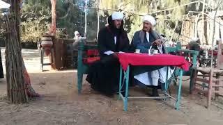 فيديو حصرى يجمع بين النجم احمد بدير و الفنان منذر رياحنة من كواليس تصوير مسلسل البيت الكبير