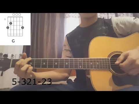 Ты мой человек на гитаре разбор