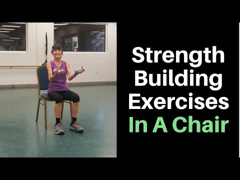 Seated Strength Exercises For Seniors