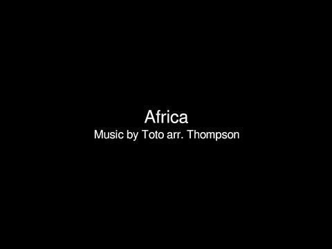 Africa, Clarinet Sheet
