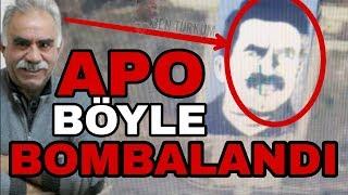 Abdullah Öcalan'ın Dev Posteri İşte Böyle Vuruldu