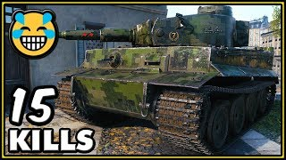 Heavy Tank No. VI - 15 KILLS - World of Tanks Gameplay