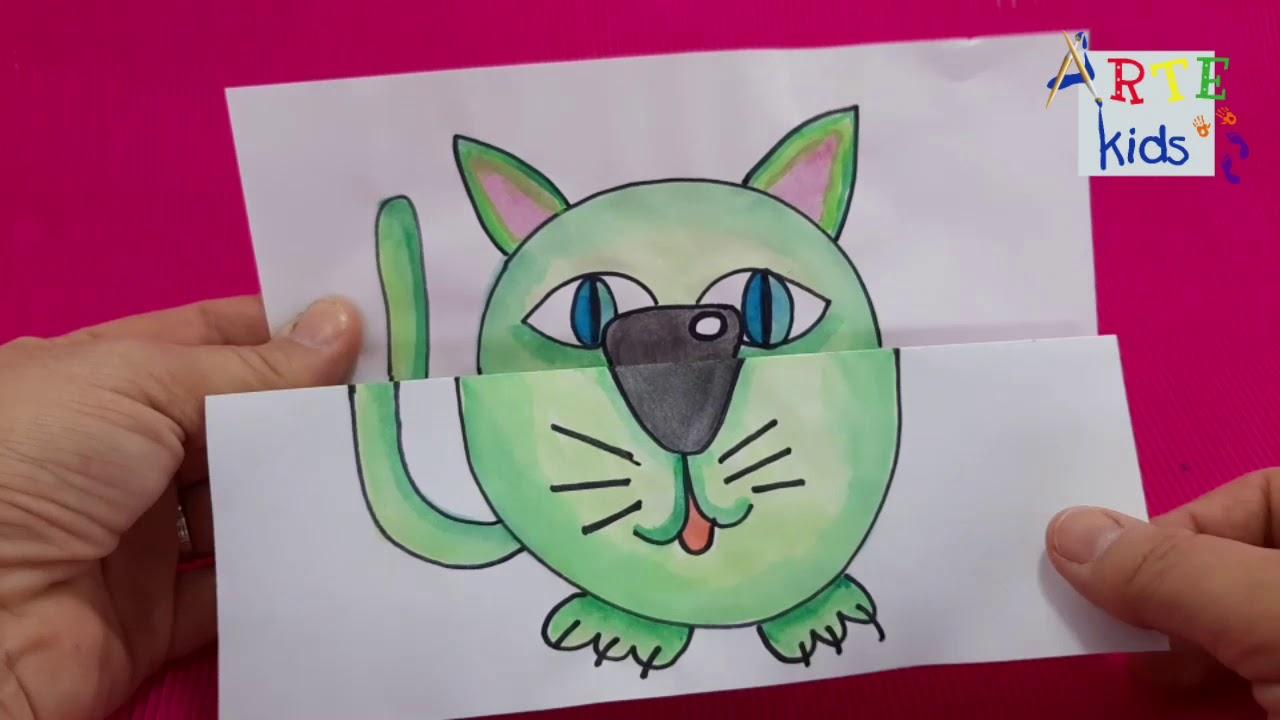 Download Actividad plástica y de arte para niños, dibujos con sorpresa, para dibujar, pintar y jugar