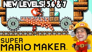 Super Mario Maker - 3 MORE levels - Trains, Parties and Football fandom.