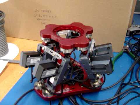 Nanomotion's motors in a Hexapod application mpg