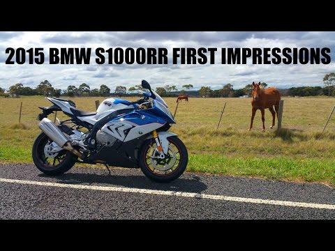 2015 BMW S1000RR First Impressions!