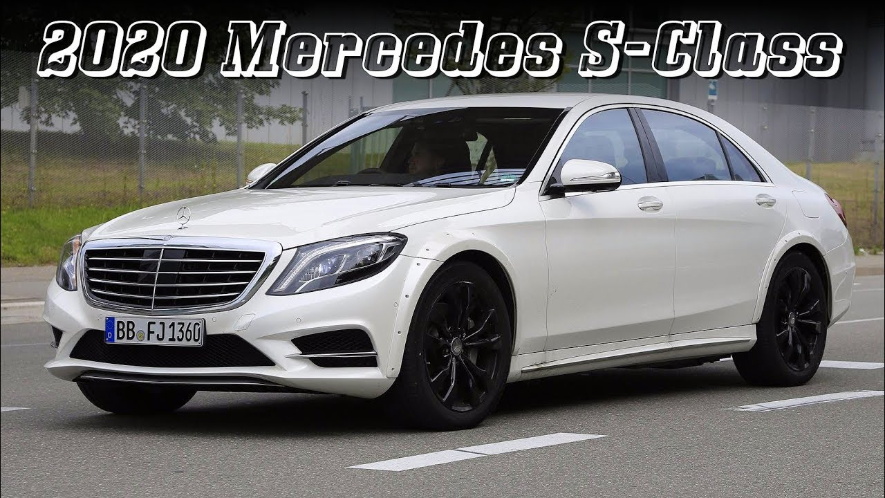 all new 2020 mercedes benz s class w223 early test mule youtube rh youtube com
