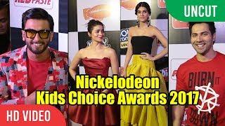 UNCUT Nickelodeon Kids Choice Awards 2017 | Ranveer Singh, Alia Bhatt, Varun Dhawan, Rohit Shetty