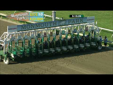 video thumbnail for MONMOUTH PARK 08-23-20 RACE 10