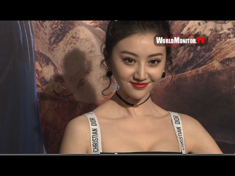 Jing Tian arrives at 'The Great Wall' Los Angeles film premiere