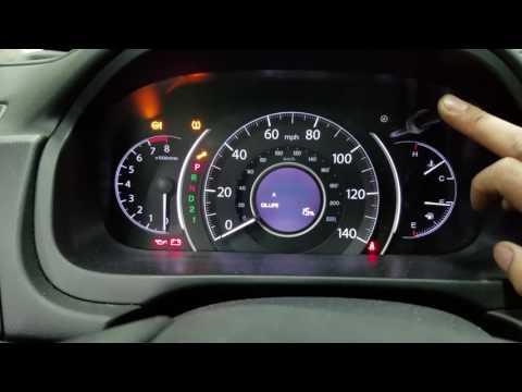 2014 Honda CR V Reset Change engine Oil light