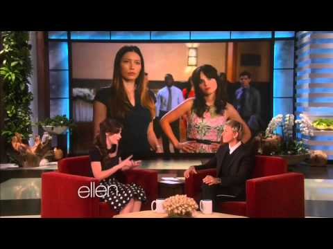 Zooey Deschanel and Ellen about Jessica...
