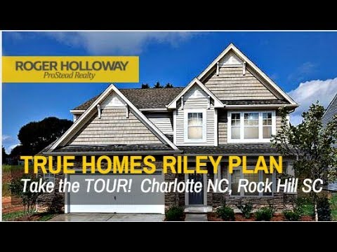 True homes riley plan under 260 000 in rock hill sc youtube for Home builders in rock hill sc