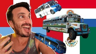 El mejor bus de latinoamerica? Peru, Argentina, Mexico y Paraguay