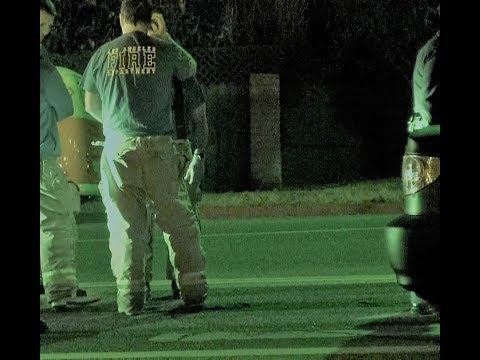 Fire Department Detains suspected DUI driver?