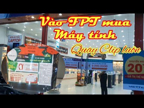 Đi FPT Mua Laptop Cho Con Gái.