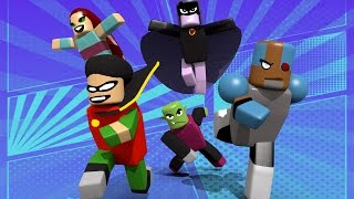 Roblox | TEEN TITANS GO - SuperHero Tycoon! (Roblox Adventures)