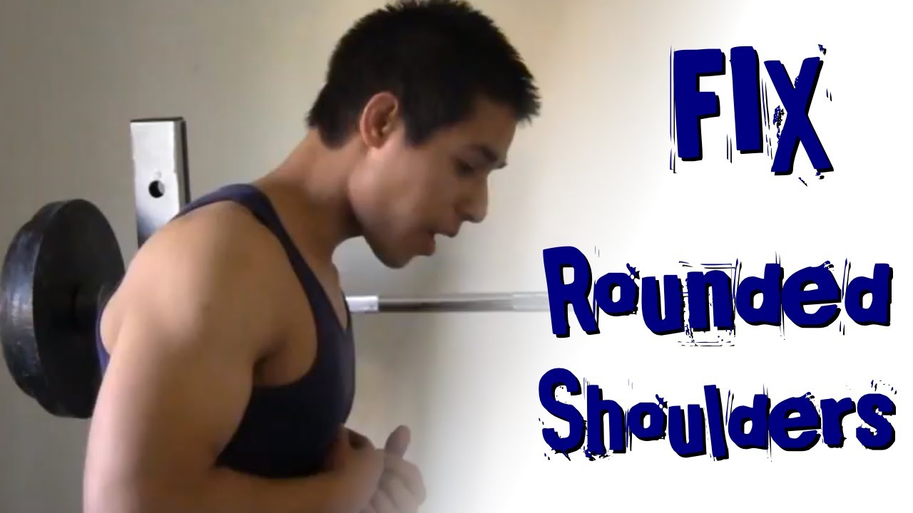 2 Exercises to Fix Rounded Shoulders! - YouTube