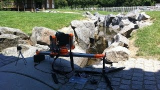 First Outdoor Test Of A Diy-slider For Video And Timelapse, 3d Printed