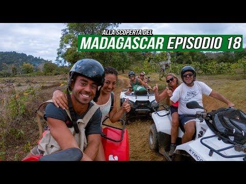 Ep18 • Viaggio Madagascar • Tour in Quad a Nosy Be e Visita Parco di Lokobe