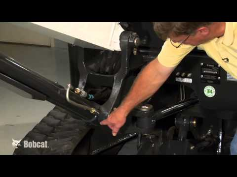 Grease Your Bobcat Compact Excavator - YouTube