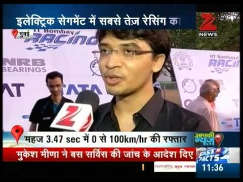IIT Bombay students claims to have invented electric car of highest speed