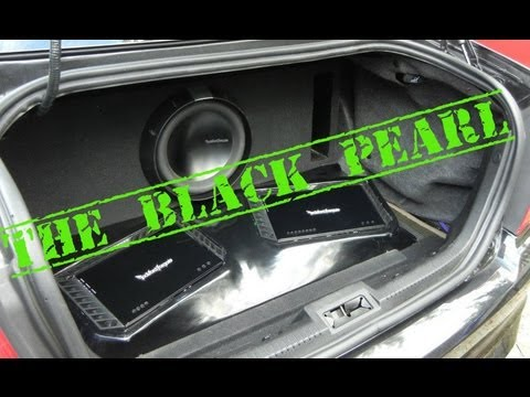 2010 Ford Fusion Custom Rockford System Youtube