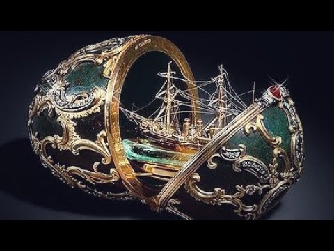 Top 10   Beautiful and Expensive Imperial Egg of Russia from the House of Faberge