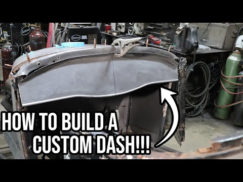 How To Build A Custom Hot Rod Dash - 1930 Ford Model A Roadster