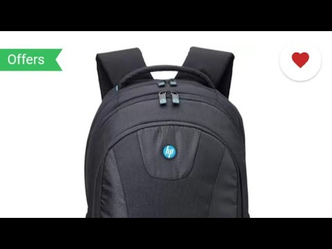 684320cb2cc2 hp premium 17.3 inch laptop backpack black 32 L backpack review