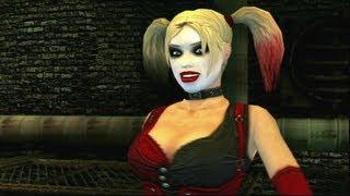 Batman: Arkham City Lockdown - Live Action Gameplay Harley Quinn Boss Video