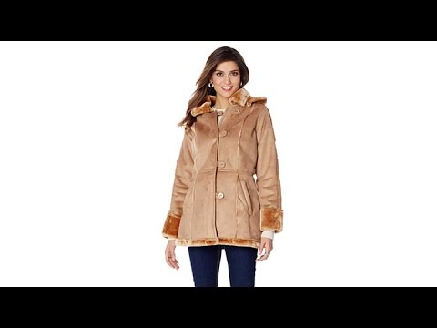 Sporto Faux Shearling Jacket with Removable Hood. http://bit.ly/39hppgG
