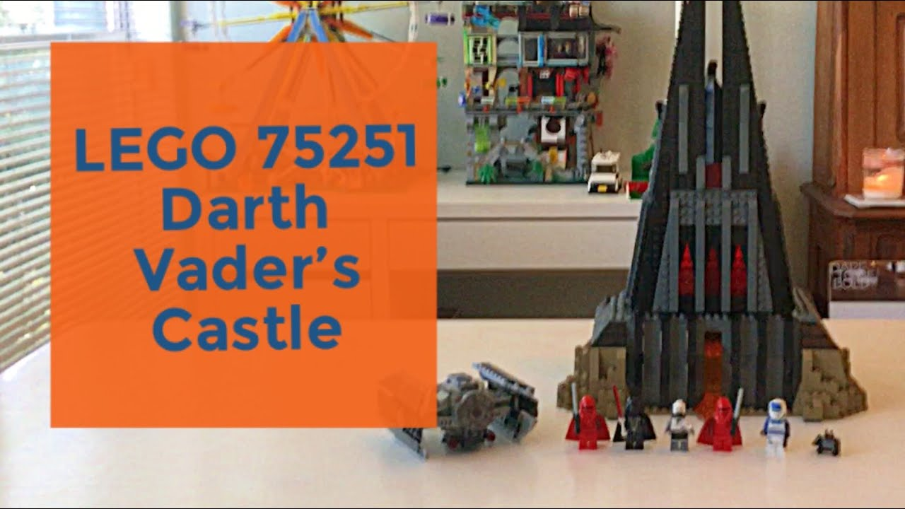 NEW /& SEALED LEGO Star Wars Darth Vader Castle 75251 9 years up