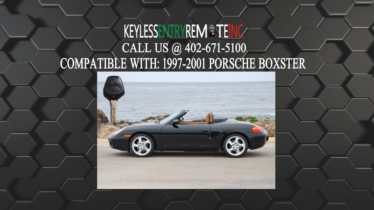 How To Replace Porsche Boxster Key Fob Battery 1997 1998 1999 2000 2001 You
