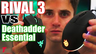 Razer Deathadder Essential vs SteelSeries Rival 3 - No Question About It! (Gaming Mouse Comparison)