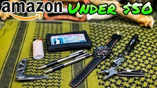 $50 Amazon Every Day Carry Kit - EDC Challenge