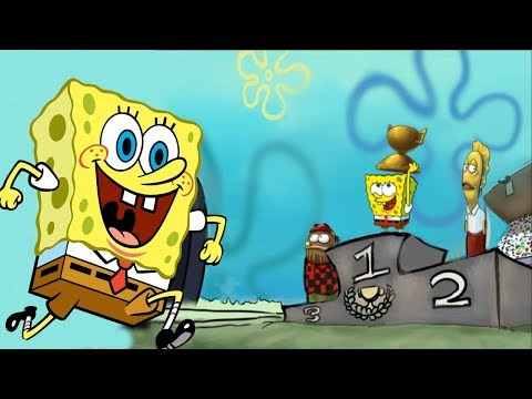 SpongeBob SquarePants: Nighty Nightmare Bikini Bottom Speedway Open Part 1