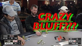 Poker Time: An Audacious Bluff and plenty of other action