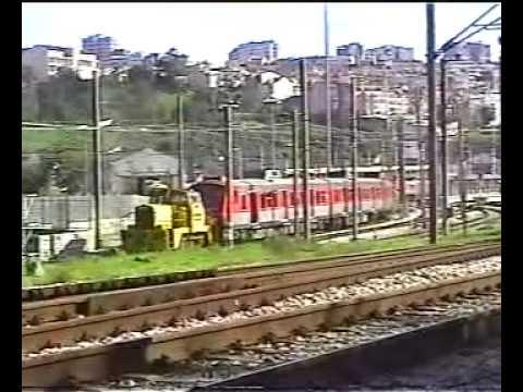 150 Anos CF Manobras do material entre Alcântara e as Docas 27 & 28 Out 2006 1/3