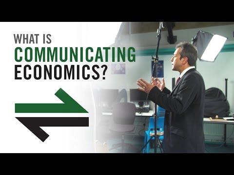 What Is Communicating Economics?