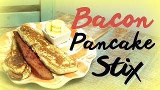 Bacon Pancake Stix (paleo & Gluten Free) | Cheap Clean Eats