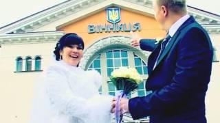 Жених и невеста на Ж.Д.В. г.Винница (Артур и Инна)